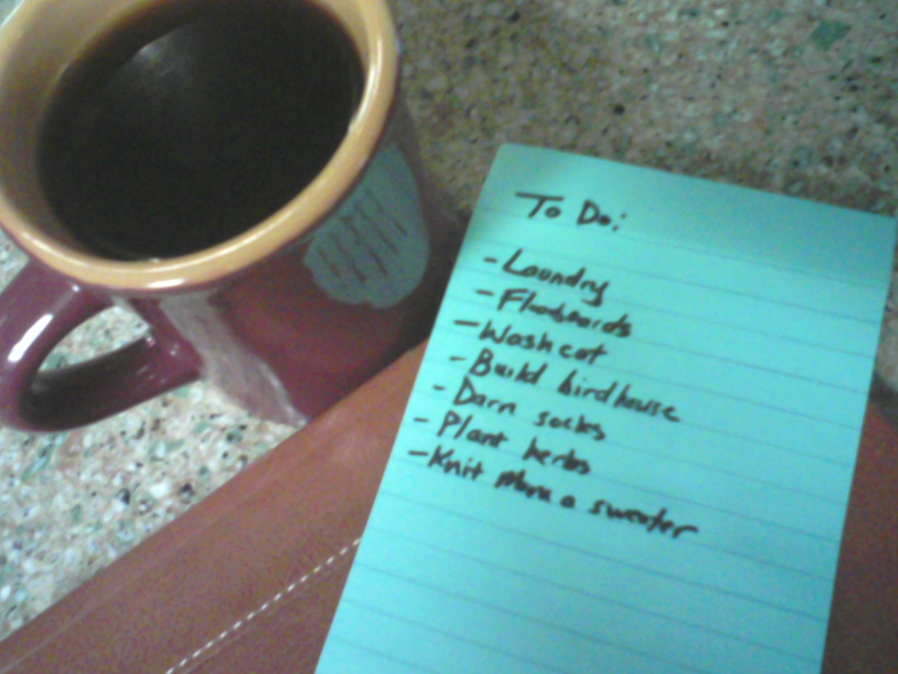 To-do List - Suzanne Terry