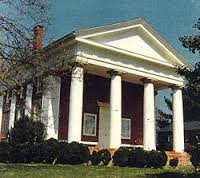Historic Courthouse in Palmyra, VA - built by the enslaved communities from Bremo and surrounding plantations.