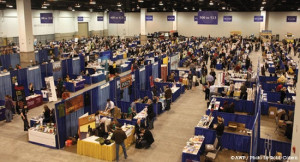 The AWP Book Fair.  Photo from The Superstition Review