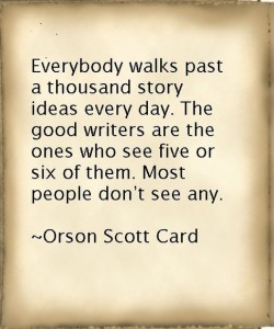 Orscon Scott Card on Stories