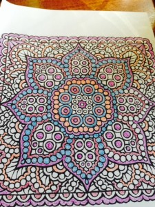 My latest coloring project.