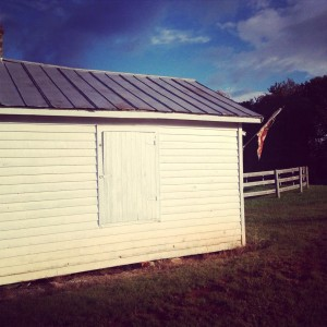 The Radiant Voting House Becomes a Farm Stand