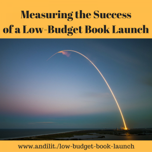 Measuring the Success of a Low-Budget Book Launch
