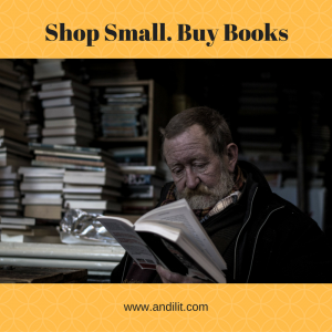 Shop Small. Buy Books.