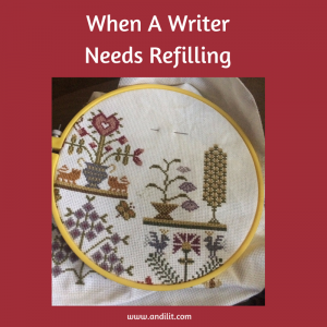 When A Writer Needs Refilling