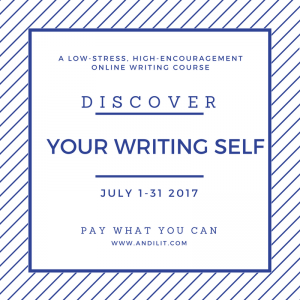 Spend Some Time on Yourself as a Writer this July