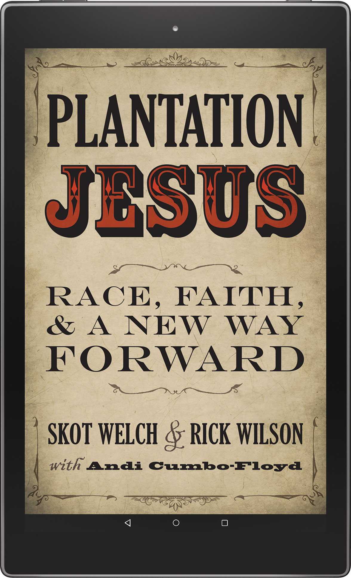 plantation jesus cover in kindle fire