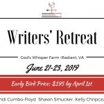 Writers' Retreat at God's Whisper Farm