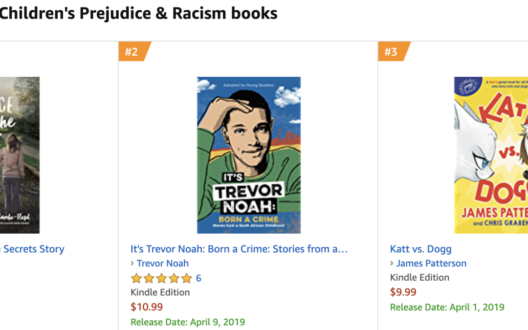 I'm Beating Trevor Noah in Book Sales – Book Launch #s – Week 5